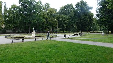 Park Sienkiewicza przed modernizacją