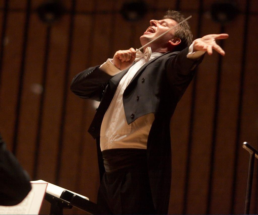 Paweł Kotla stanie za pulpitem dyrygenta podczas ostatniego lutowego koncertu 'Siła Beethovena'