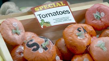 W tym 'sklepie spożywczym' wszystko jest zrobione z plastiku