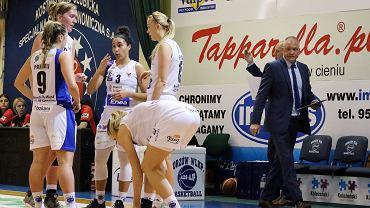 Basket Liga Kobiet, sezon 2017/18: AZS AJP Gorzów - Zagłębie Sosnowiec 76:74 (23:22, 12:21, 17:14, 24:17)