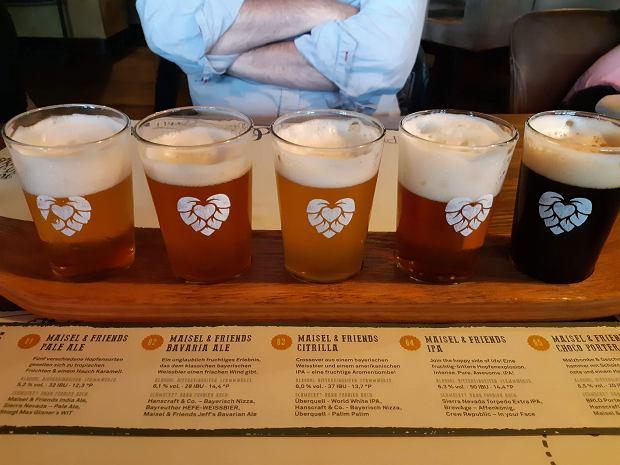 Degustacja piw w Browarze Maisel's w Bayreuth