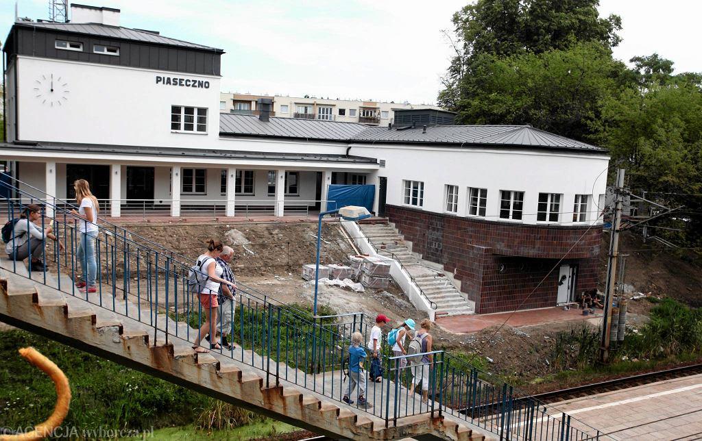 SKM Warszawa: dworzec w Piasecznie już jest odnowiony. Ma się stać najważniejszym punktem przesiadkowym w rejonie