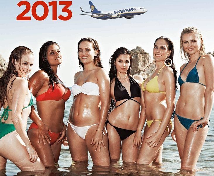 Kalendarz Ryanair 2013 / fot. materiały prasowe Ryanair