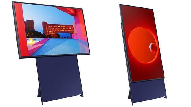 The Sero - pionowy telewizor Samsunga