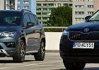 Skoda Karoq 2.0 TDI vs. Seat Ateca 2.0 TSI - opinie Moto.pl. Bratobójcze starcie