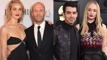 Joe Jonas, Sophie Turner, Jason Statham