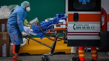 Włoski 'pacjent nr 1' wyszedł ze szpitala. Zaapelował do rodaków (zdjęcie ilustracyjne)
