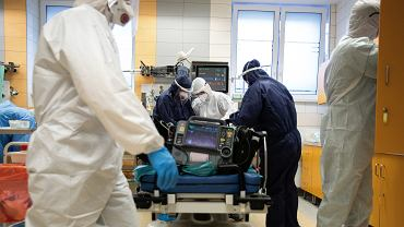 Szpital w czasie epidemii / zdjęcie ilustracyjne