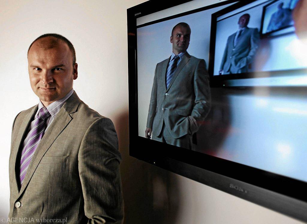 Rafał Brzoska opiera przyszłość firmy na paczkomatach.
