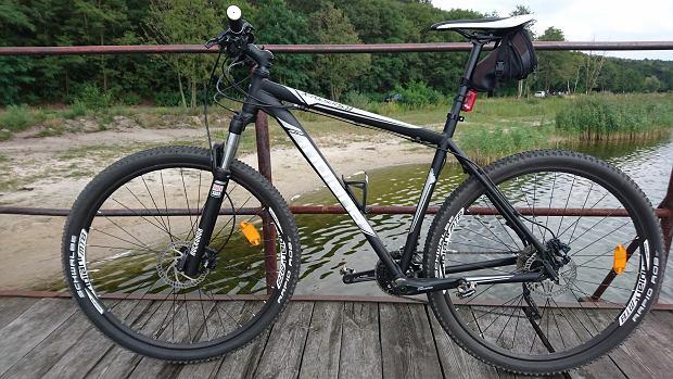 Rama to zdecydowany plus tego roweru