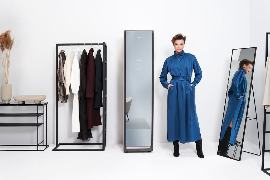 Dzięki szafie parowej AirDresser pozbędziesz się z ubrań nieprzyjemnych zapachów