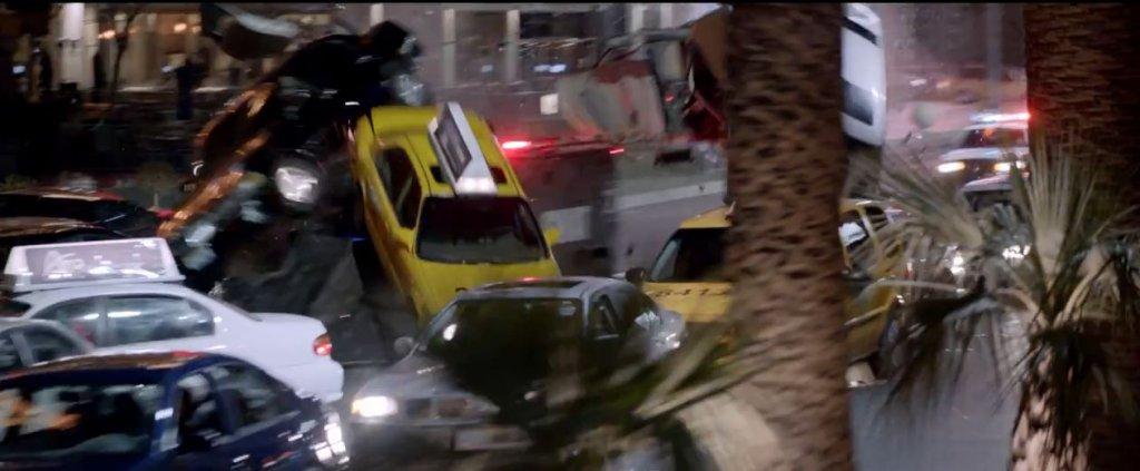 Kadr z trailera filmu 'Jason Bourne'