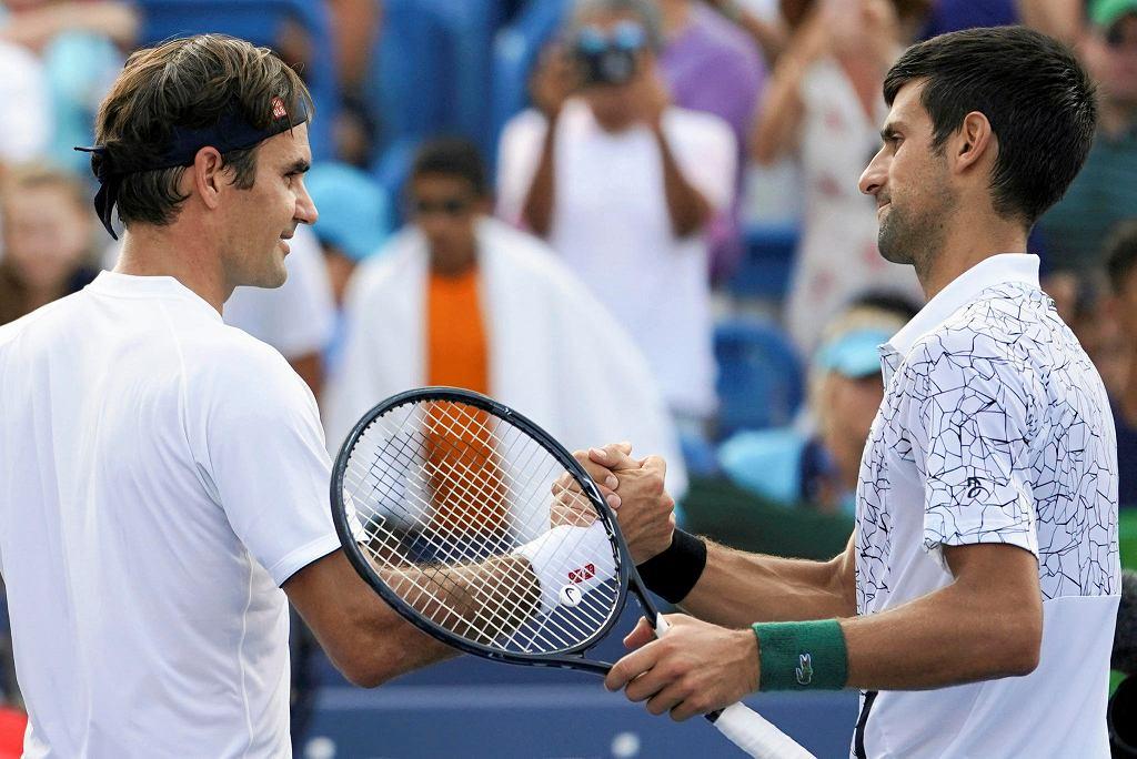 Roger Federer i Novak Djoković