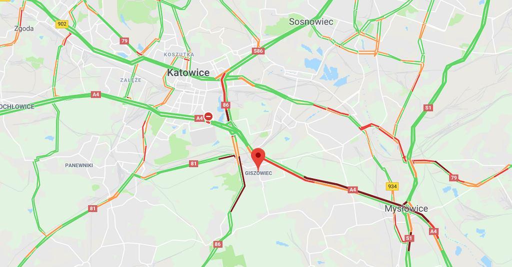 Wypadek na autostradzie A4. Droga do Krakowa i Wrocławia została zablokowana
