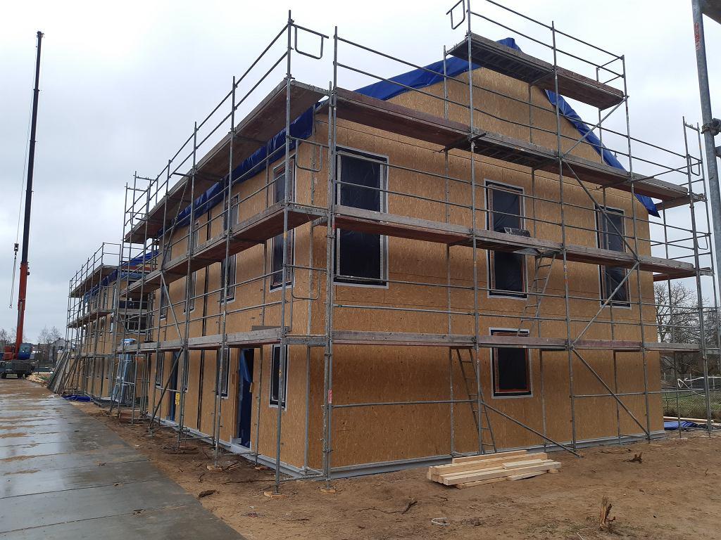 Budowa domów w systemie panelowo drewnianym