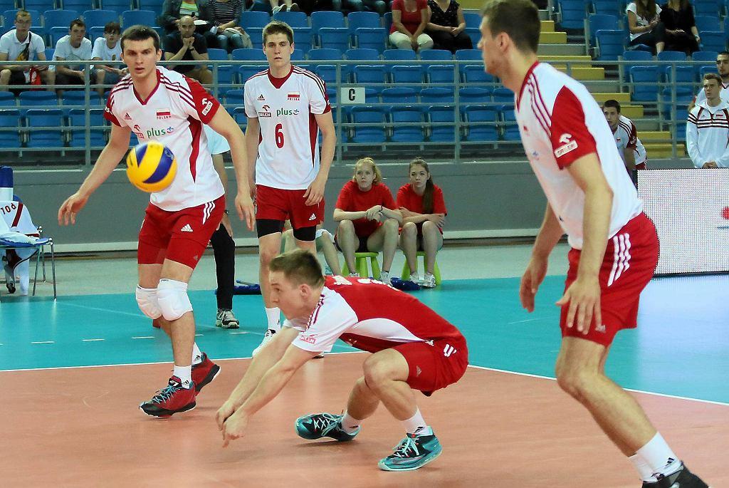 Liga Europejska siatkarzy: Polska U-23 - Rumunia 2:3