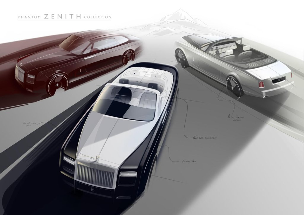 Rolls-Royce Phantom Zenith (szkic)