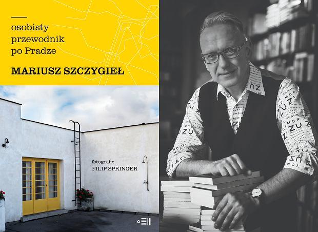 Mariusz Szczygieł, autor książki 'Osobisty przewodnik po Pradze' (fot. Tomasz Krupa)