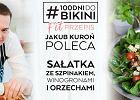 Jakub Kuroń poleca: <strong>Sałatka</strong> ze <strong>szpinakiem</strong>, winogronami i orzechami