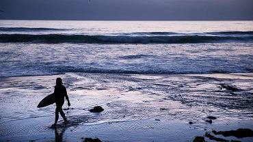 Plaża Scripps w San Diego, Kalifornia.