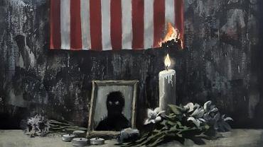 Banksy skomentował śmierć George'a Floyda w najnowszym dziele