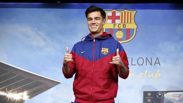 Philippe Coutinho kontuzjowany. Nowy nabytek Barcelony będzie pauzował trzy tygodnie