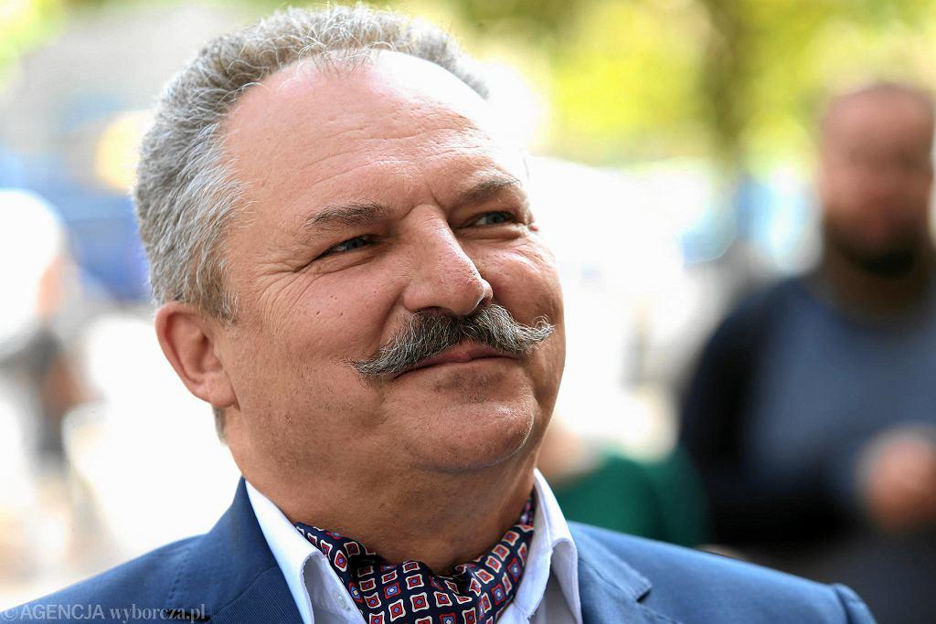 Kandydat na prezydenta Warszawy Kukiz 15 Marek Jakubiak przyszłym sponsorem Polonii