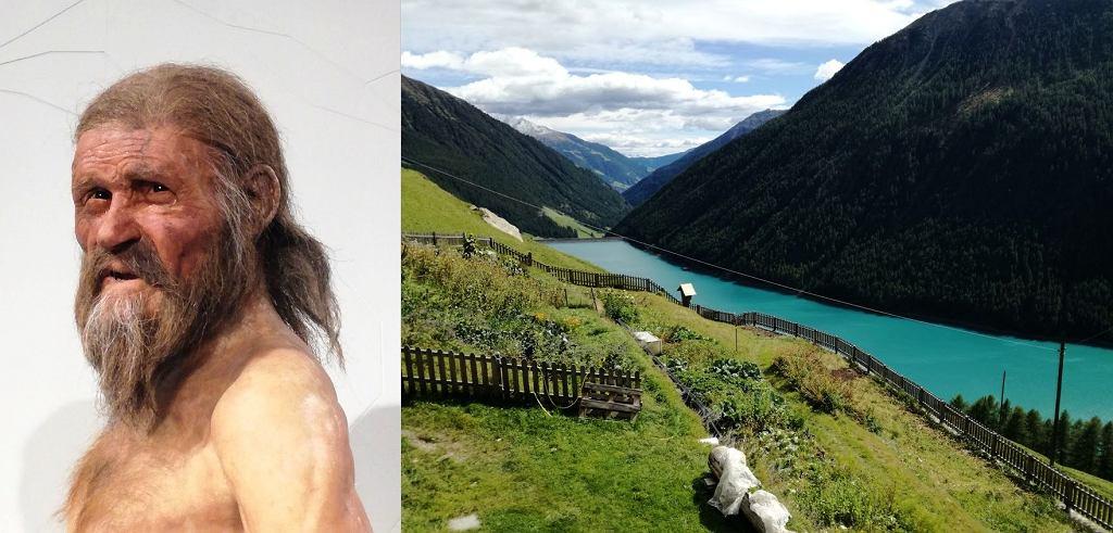 Ötzi i takie widoki - skarby doliny Val Senales w Południowym Tyrolu
