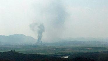 Korea Północna wysadziła w powietrze koreańskie biuro łącznikowe