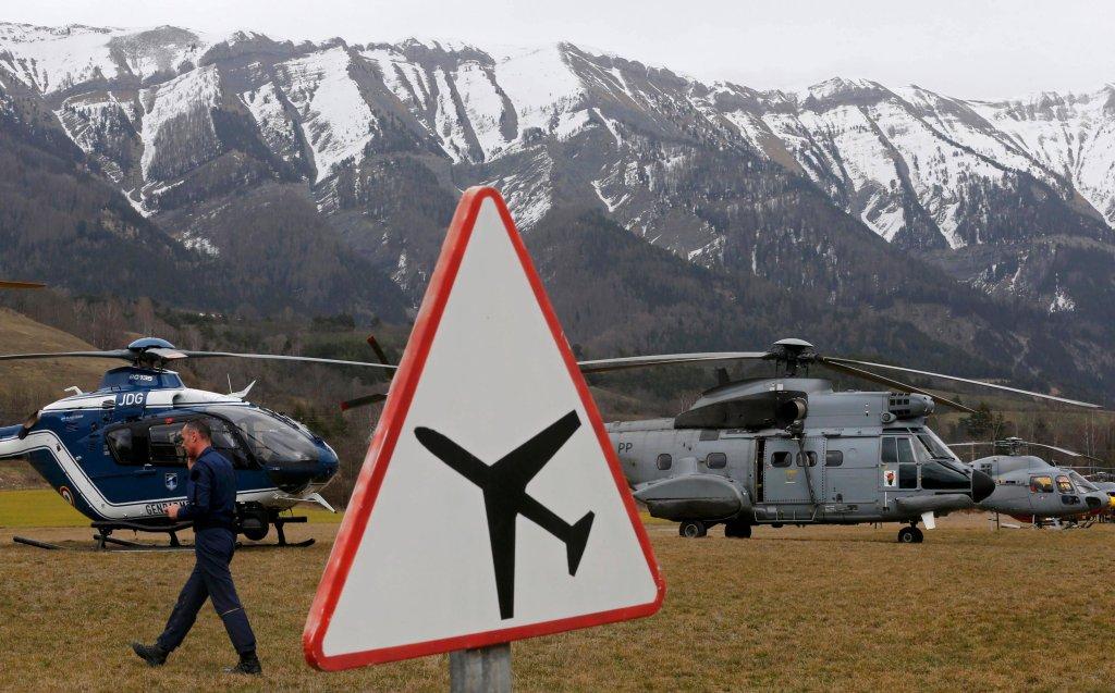 Helikoptery francuskich sił ratunkowych
