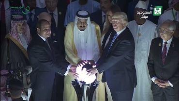 Donald Trump w Arabii Saudyjskiej