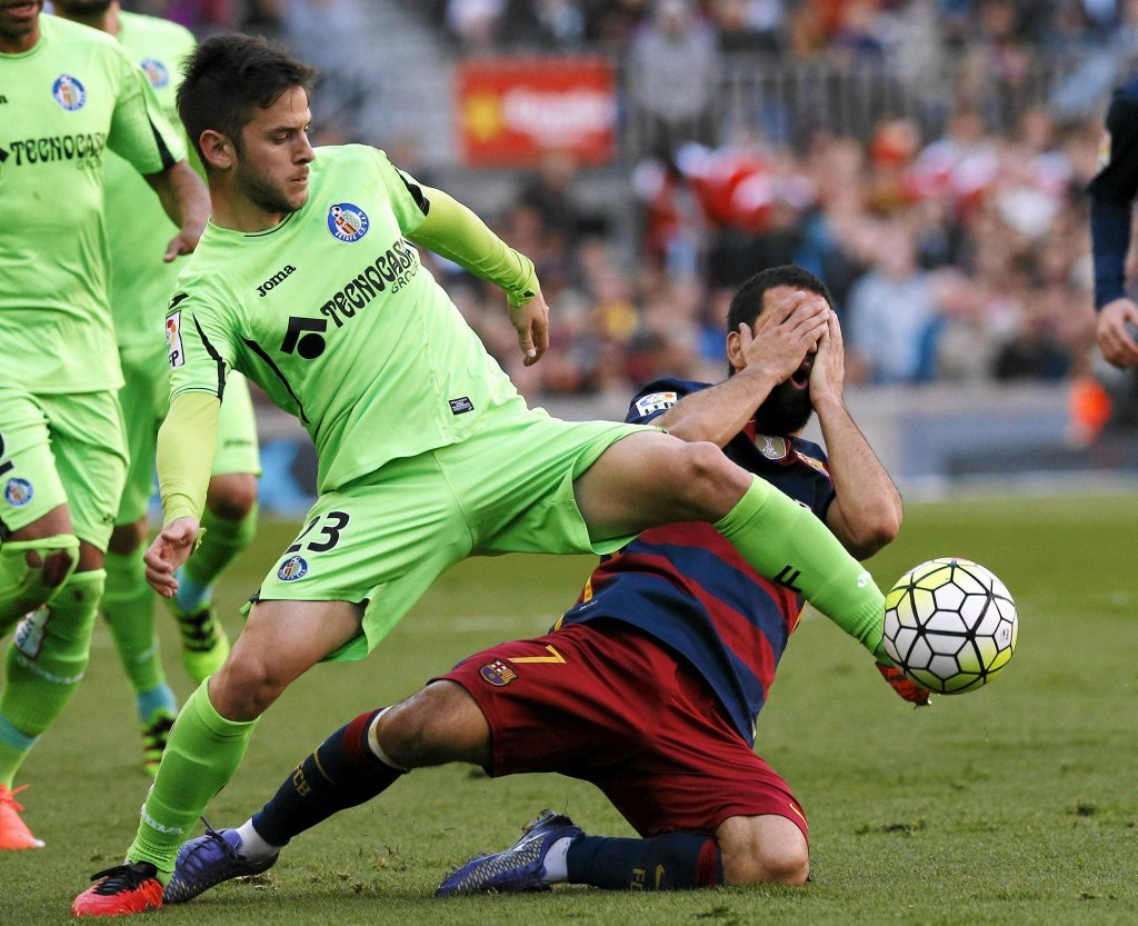 Mecz Barcelona - Getafe