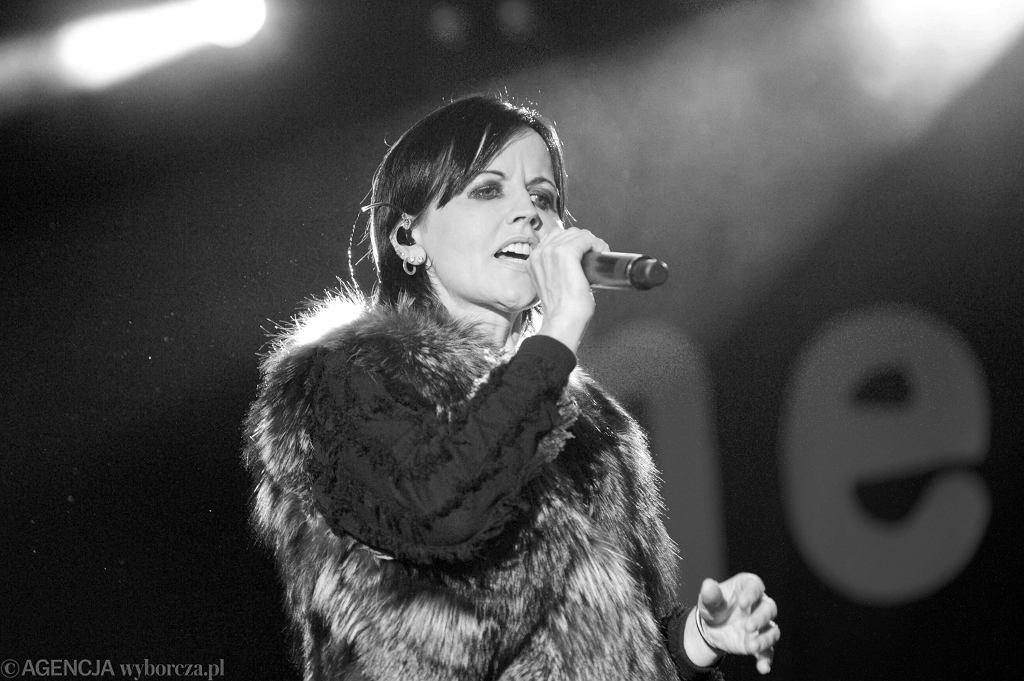 Dolores O'Riordan z The Cranberries podczas koncertu we Wrocławiu