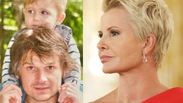 Paweł Janeczek z synem, Joanna Racewicz