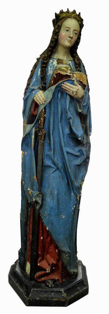 'Złota Katarzyna' z Katternecke z początku XVI wieku / 'Złota Katarzyna' z Katternecke z początku XVI wieku
