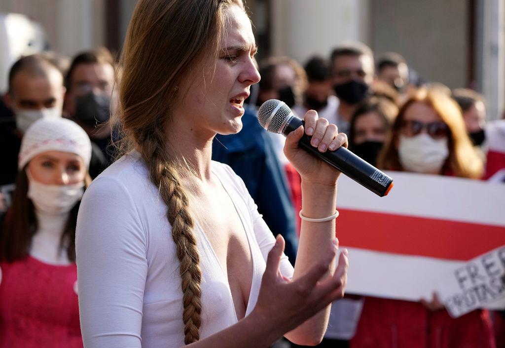 Jana Shostak, białoruska aktywistka
