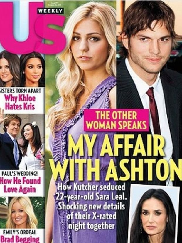 Ashton Kutcher i Sara Leal