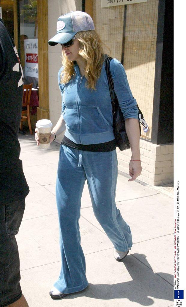 Do fanek welurowych dresów należy też Madonna