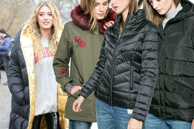 fot. modne kurtki i płaszcze