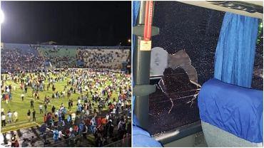 Tragedia przed meczem w Hondurasie