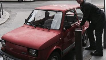Tom Hanks i ''jego'' fiat 126 p.