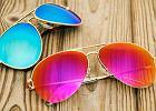 Okulary z kolorowymi szkłami znanych marek! Oakley, Ray-Ban i inne