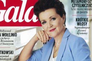 Jolanta Kwaśniewska w 'Gali'