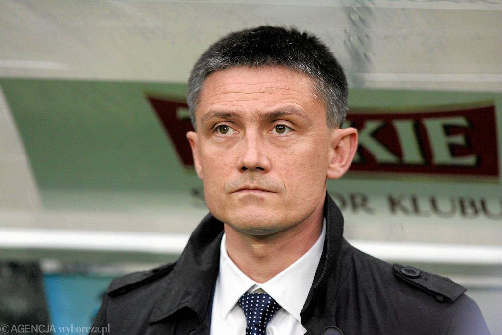 Mariusz Rumak, trener Śląska Wrocław