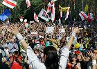 Witana chlebem i solą Swiatłana budzi Białoruś i daje ludziom nadzieję