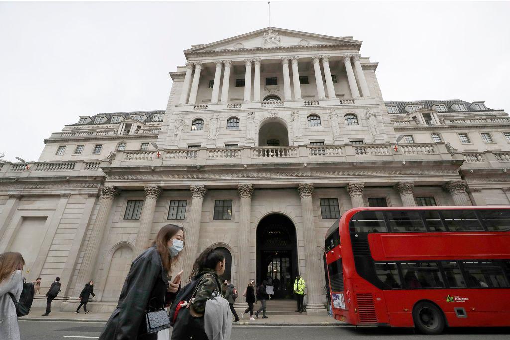 Londyn, siedziba Banku Anglii.