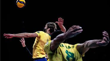 Mecz Polska - Brazylia w finale siatkarskiej Ligi Narodów. Rimini, Włochy, 27 czerwca 2021