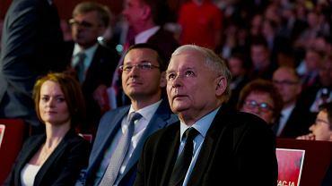 Wicepremier Mateusz Morawiecki i prezes PiS Jarosław Kaczyński
