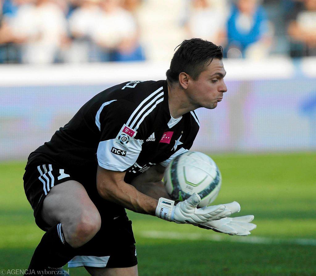 Michał Miśkiewicz w poprzednim sezonie był ważnym zawodnikiem Wisły