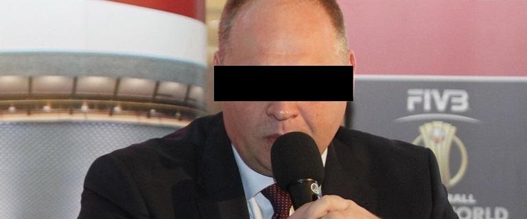 Siatkówka. Zatrzymania w związku z organizacją MŚ 2014. Artur P., szef z tylnego siedzenia